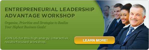 Entrepreneurial Leadership Advantage Workshop